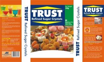 Trust Refined Sugar Crystals